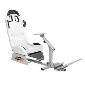 Evolution White Gaming Seat
